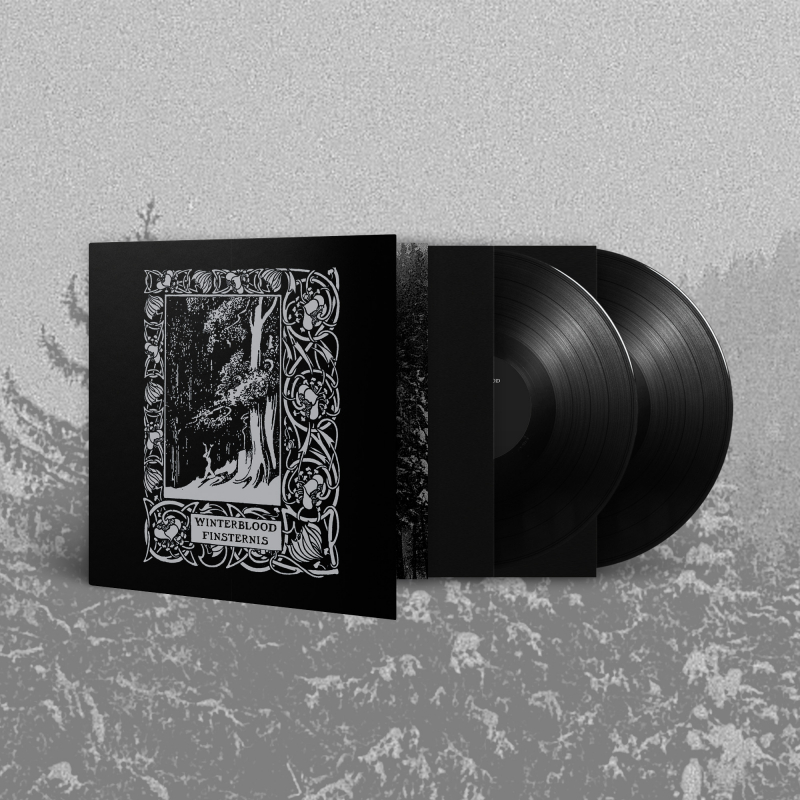 Winterblood - Finsternis Vinyl 2-LP Gatefold     Black